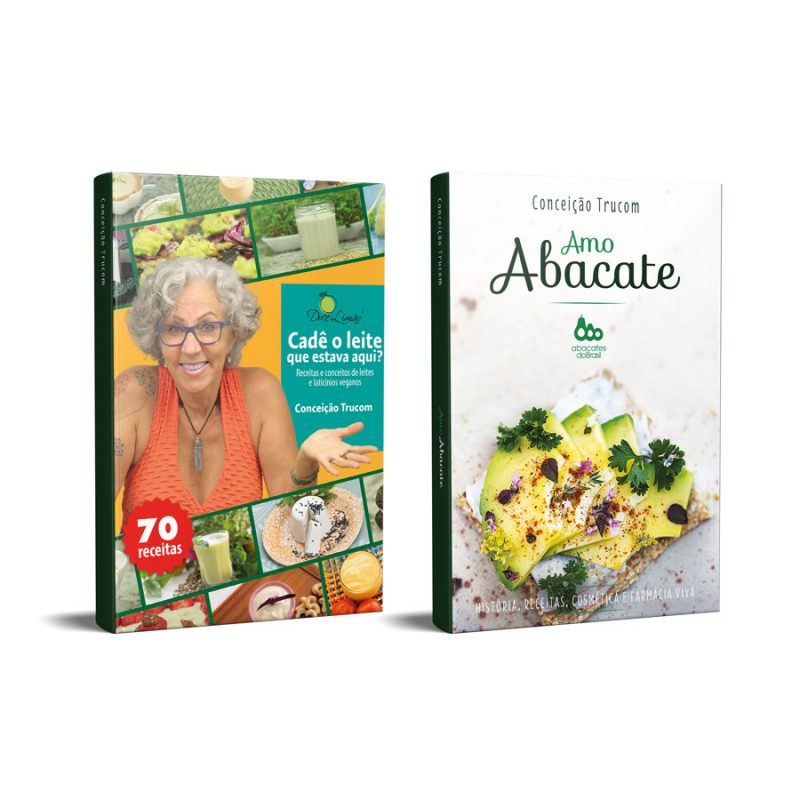 combo 2 livros vitamina do bem