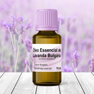 óleo essencial de lavanda bulgária